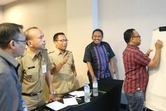 Diskusi Kelompok dalam Pelatihan Lingkungan Hidup Berkelanjutan